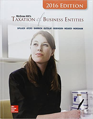 McGraw-Hill's Taxation Of Business Entities, 2016 Edition