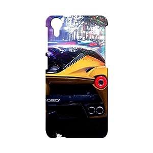 BLUEDIO Designer Printed Back case cover for HTC Desire 728 - G1537