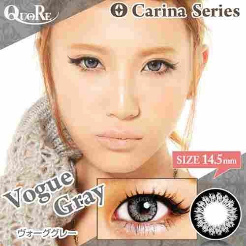 (Carina(カリーナ)ヴォーググレー Gray Lens 225 度あり 14.5mm 1枚)