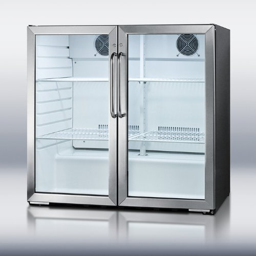 Commercial Beverage Cooler front-30399