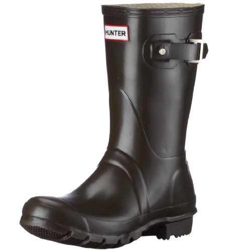 Hunter Unisex-Adult Original Short Chocolate Wellington Boot W23758 10 UK