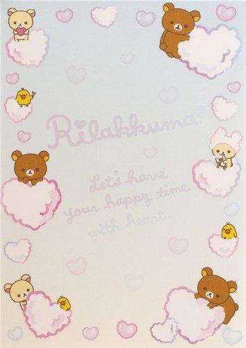 Imagen 3 de Bloc de notas Rilakkuma con osos y un pollito en la bañera