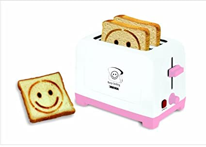 Wama Smiley WMTO 09 2 Slice 700W Pop Up Toaster