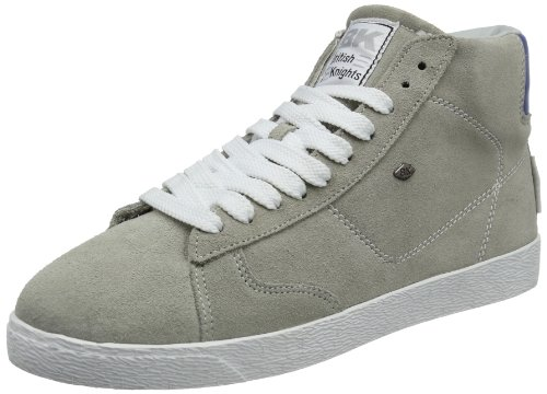 British Knights TYPHOON MID Trainers Mens Gray Grau (lt. grey/blue 11) Size: 12 (46 EU)