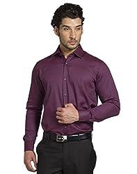 Klub Fox Maroon Color Formal Shirt for men