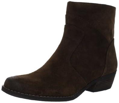 Nine West Women's Bogie Ankle Boot,Brown,5.5 M US