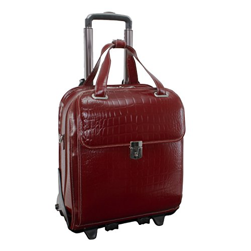 Siamod-Novembre-Leather-156-Rolling-Laptop-Bag-Cherry-Red