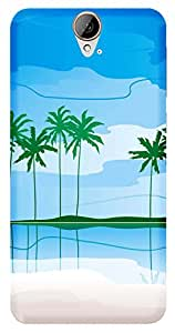 WOW Printed Designer Mobile Case Back Cover For HTC One E9 Plus