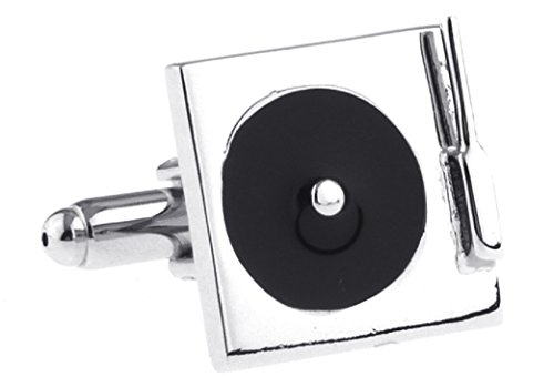 Turntable Record Player Cufflinks With A Presentation Gift Box
