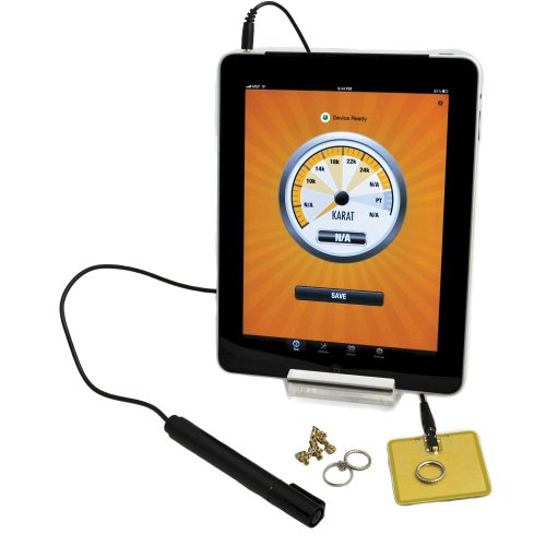 Gemoro Auracle Agt2 Electronic Mobile Gold & Platinum Tester For Android Users