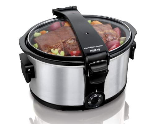 Hamilton Beach 7 Quart Stay Or Go Slow Cooker (Hamilton Beach Slow Cooker Lid compare prices)