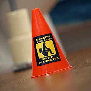 Toilet Caution Cone