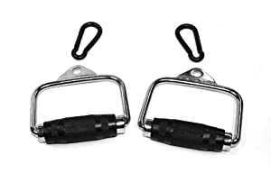 Ader Cable Handles w/ Heavy Duty Black Snap Link (Sold As Pair) from Ader Sporting Goods