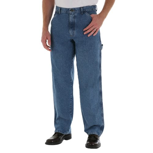 Men's Wrangler Carpenter Antique Stonewash Jeans