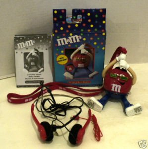 M&M'S Groovy Radio With Headphones