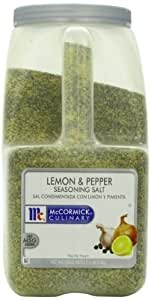 Mccormick Seasoning Salt, Lemon and Pepper, 7.5-Pound