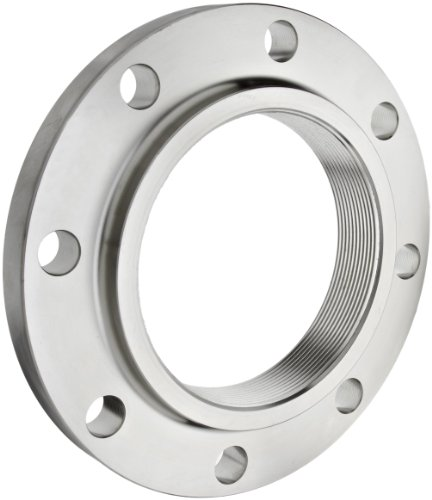 "Stainless Steel 304/304L Pipe Fitting, Flange, Threaded, Class 150, 1-1/4"" NPT Female"