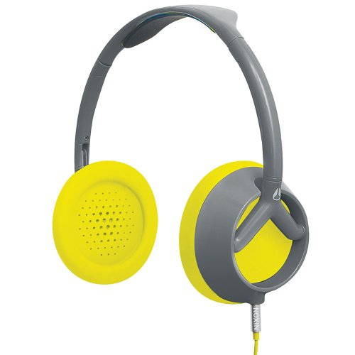Nixon Trooper Headphones Gray/Yellow, One Size