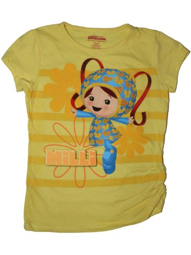 Nick Jr. Team Umizoomi Milli Girls T-shirt