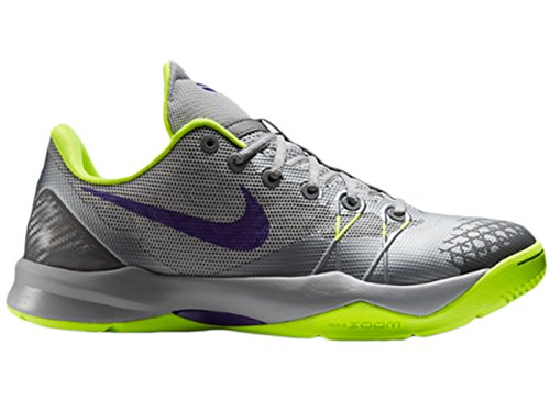 sale retailer save up to 80% best sale Mens Nike Zoom Kobe Venomenon 4 Basketball Shoes Grey/Purple ...