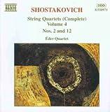 Schostakowitsch: Streichquartette 2 und 12 Eder