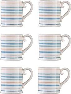 Set of 6 Coast Design Tankard Mugs