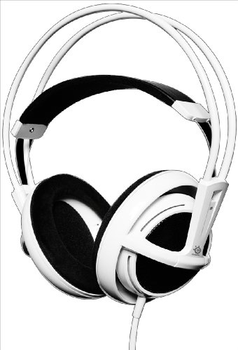 SteelSeries Siberia Full-Size Kopfhörer weiß
