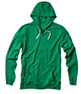 Matix Builders Zip Hood Green