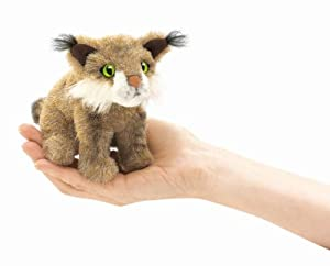 Bobcat Finger Puppet from Folkmanis