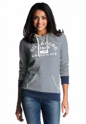 Billabong Kapuzensweatshirt Damen Kapuzenpullover getreift günstig