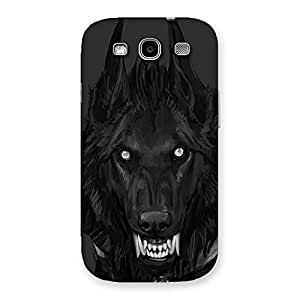 Danger Wolf Back Case Cover for Galaxy S3 Neo