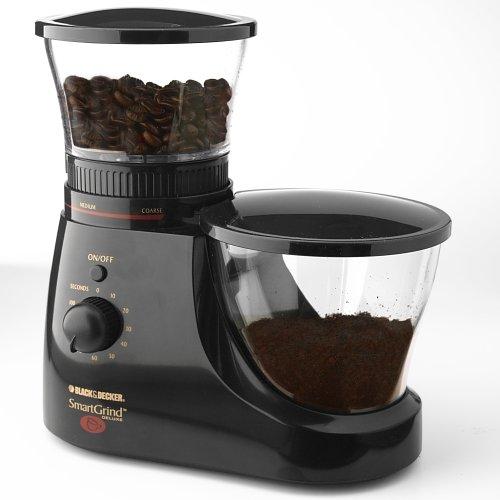 Black And Decker Burr Mill Coffee Grinder