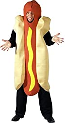 Uwant Fashion Hot Dog Mens Fancy Dress Costume Novelty Fun Stag Night Outfit Os
