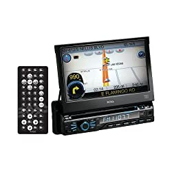 See Boss Audio Bv9980nv 7 Single-Din In-Dash Dvd Receiver With Navigation & Bluetooth(R) Details