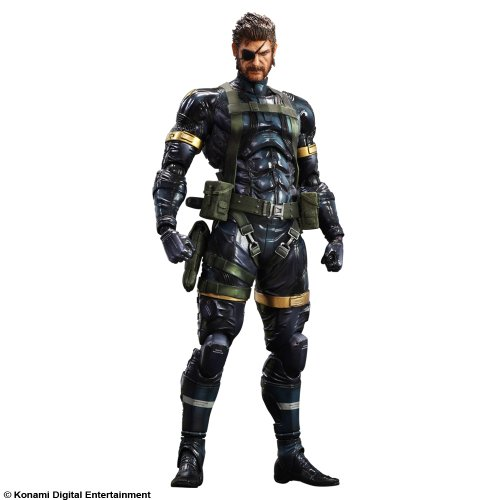 METAL GEAR SOLID V GROUND ZEROES PLAY ARTS改-kai- スネーク (2014年春発売予定)