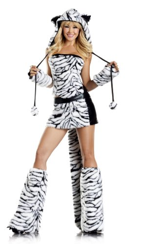 Be Wicked Women's Tasty Tiger Costume