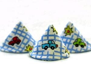 The Pee-pee Teepee for the Sprinkling Weewee Cars & Trucks with a Laundry Bag (Colors & Styles May Vary)