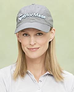 TaylorMade Ladies' Tradition Cap, White/ Pink