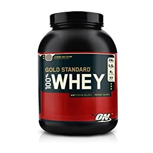 Optimum Nutrition 100% Whey Gold Standard, Cookies and Cream, 5.15 Pound