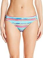 Nautica Slip de Baño Lagoon Stripe Strap Pant (Multicolor)