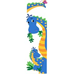 Peek-A-Saurus Mini Paint by Number Wall Mural