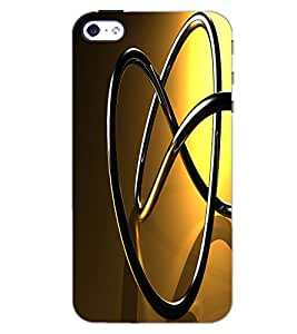 APPLE IPHONE 4 STEEL Back Cover by PRINTSWAG