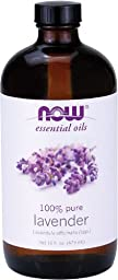 NOW Foods - LAVENDER OIL 16 OZ