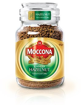 Moccona Freeze-Dried Coffee 100g (Imported from Australia) (Hazelnut)