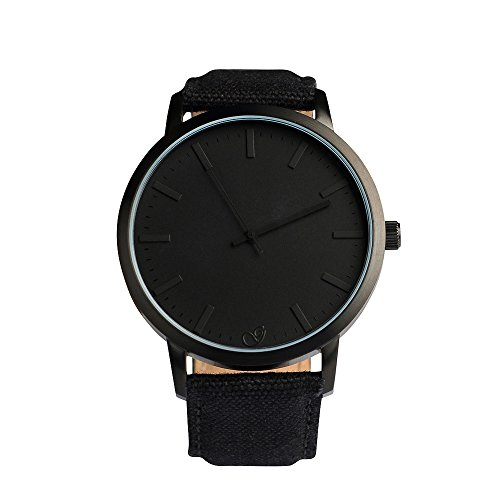 gaxs-watches-jamming-joe-canvas-herren-armbanduhr-all-black-mit-canvas-stoff-armband