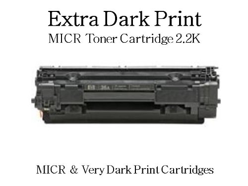 MICR Toner Cartridge Replaces CE285A For HP P1102 Series Printers