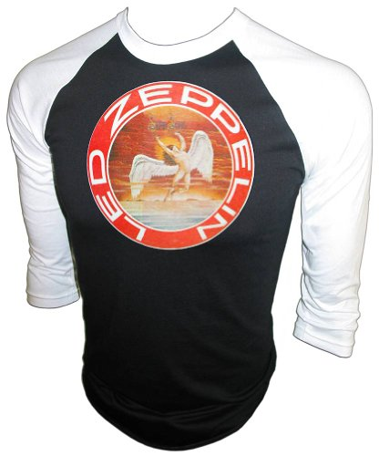 Vintage 1974 Led Zeppelin Swan Song Tour 1976 Warner Special Products Concert Jersey T-Shirt