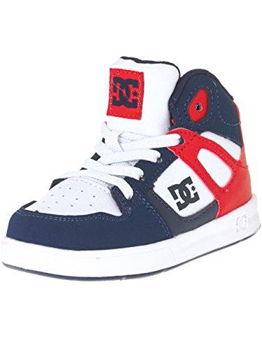 Chaussures tout-petits DC Rebound UL Bleu Fonce Blanc