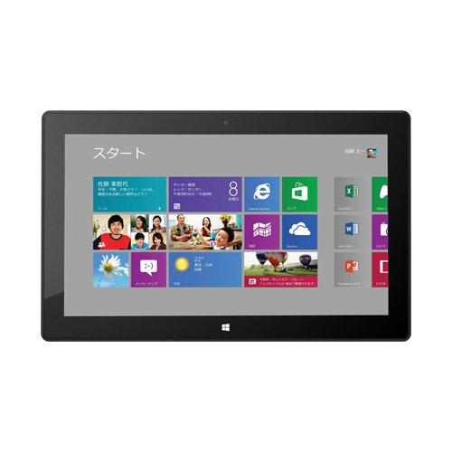 マイクロソフト Surface RT 64GB 7ZR-00017