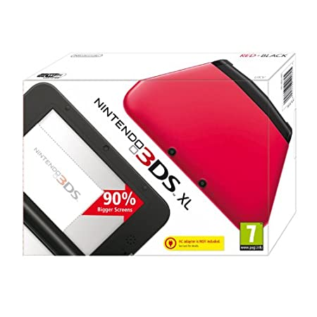 Nintendo Handheld Console 3DS XL - Red/Black (Nintendo 3DS)